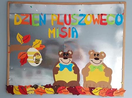 Międzynarodowy Dzień Pluszowego Misia- Teddy Bear Day !